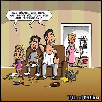 Muttertag Comic